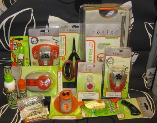 Blog giveaway!  Tonic goodies!